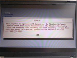 Blokada computrace